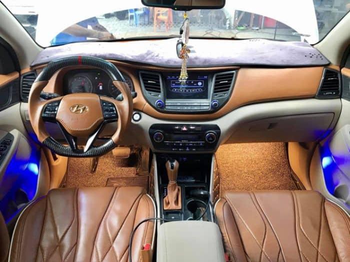 Nên lựa chọn màu sắc nào để bọc ghế da cho chiếc Hyundai Tucson?