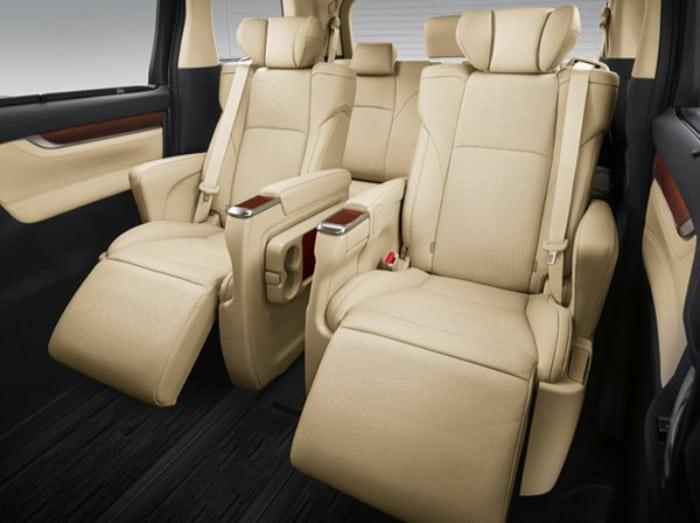 mẫu bọc ghế da xe Toyota Alphard đẹp