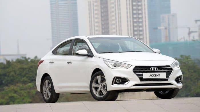 Hyundai Accent là mẫu xe nhỏ thuộc dòng xe hạng B