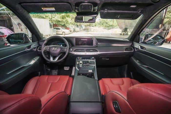 bọc ghế da xe Hyundai Palisade
