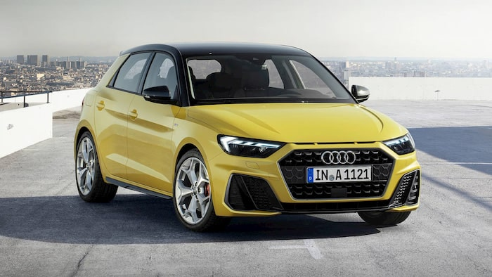Ngoại thất xe Audi A1