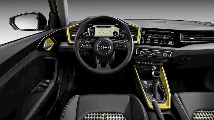 Nội thất xe Audi A1