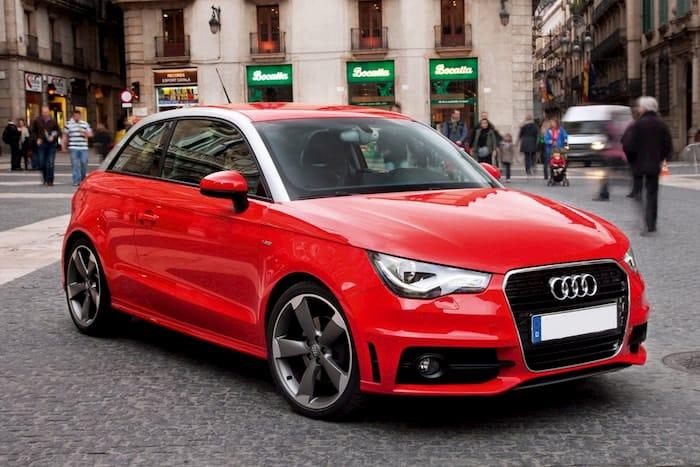 Thiết kế ấn tượng của xe Audi A2