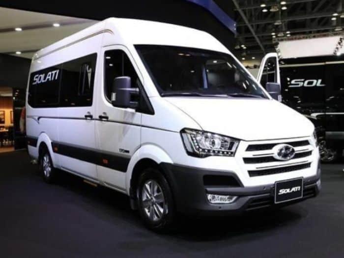 Hyundai Solati luôn đứng top đầu trong những chiếc xe phục vụ thương mại