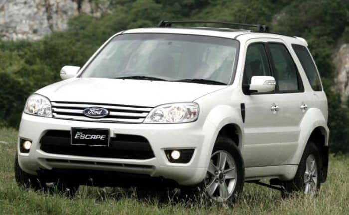 Ford Escape là dòng xe từng làm mưa làm gió tại thị trường Việt Nam