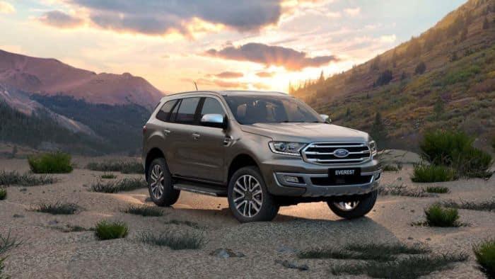 Ford Everest được trang bị công nghệ tiên tiến
