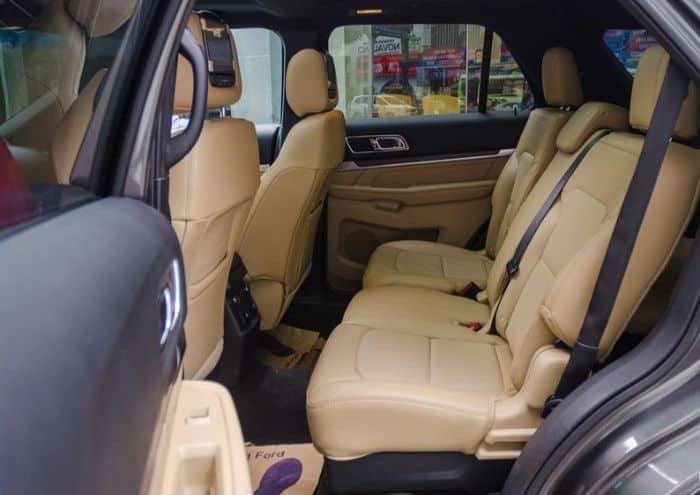 Lựa chọn kiểu bọc da ghế xe Ford Explorer