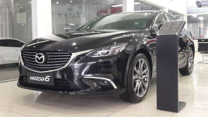 Chiếc Mazda 6 sở hữu phần ngoại thất thu hút