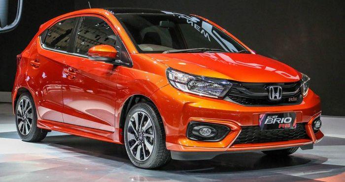 Honda Brio có thiết kế nhỏ nhắn, trẻ trung