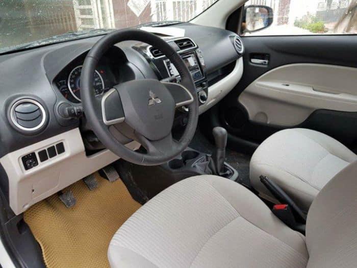 Có nên bọc ghế xe Mitsubishi Attrage không?