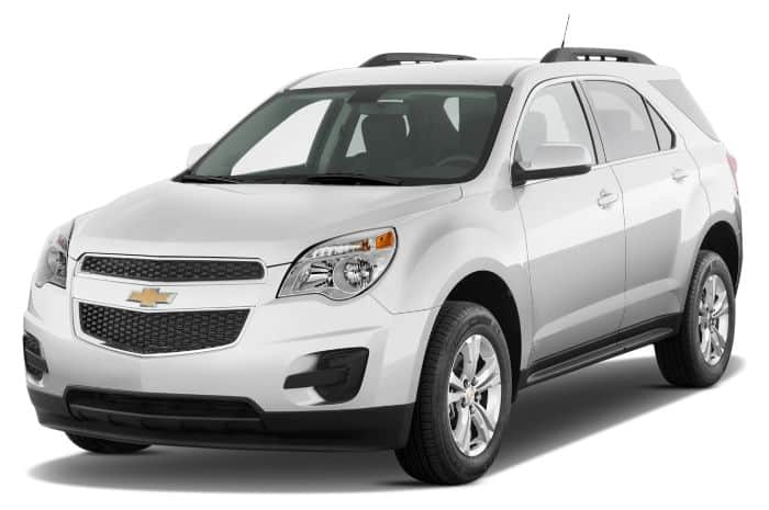 Chevrolet Equinox sở hữu ghế ngồi tiện nghi