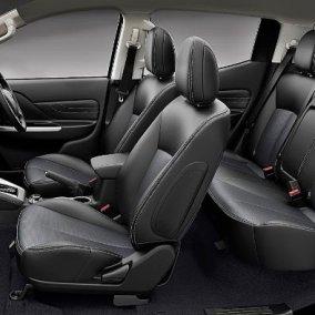 Ghế xe Mitsubishi Triton nên bọc bằng da công nghiệp cao cấp
