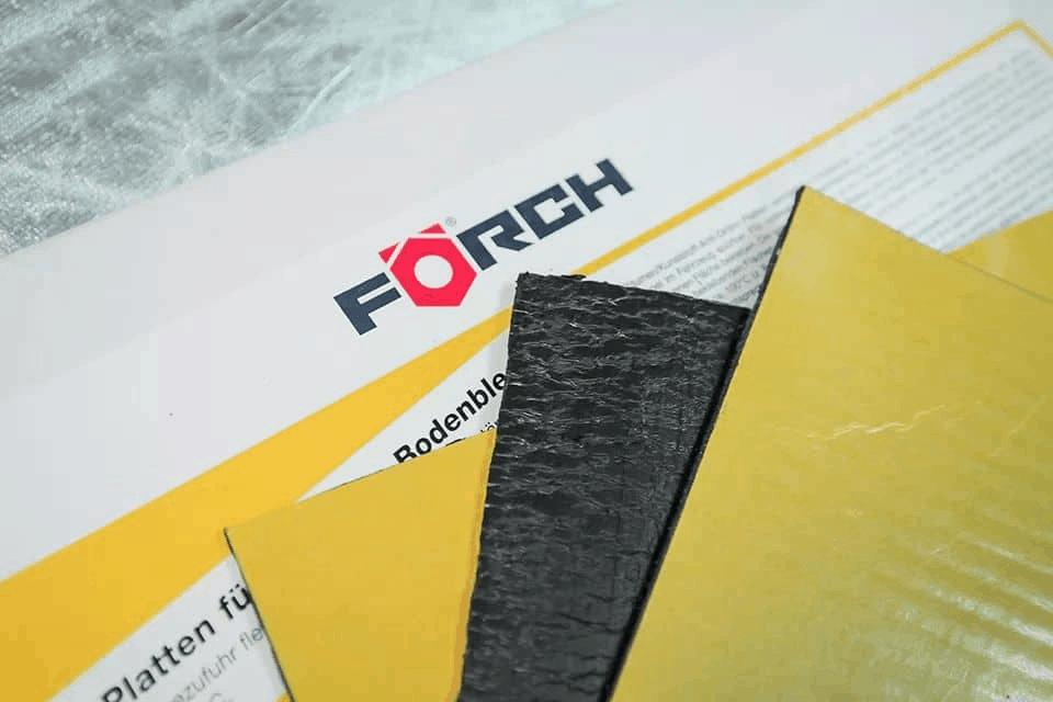 Cách âm chống ồn thương hiệu Forch đến từ nước Đức