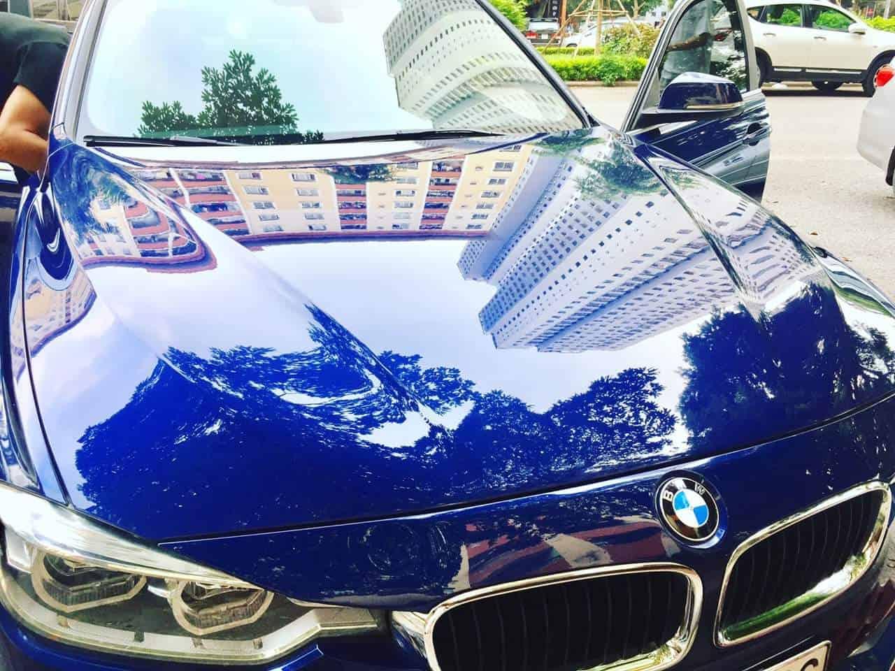 Lớp Nano Ceramic bảo vệ vững chắc cho sơn xe