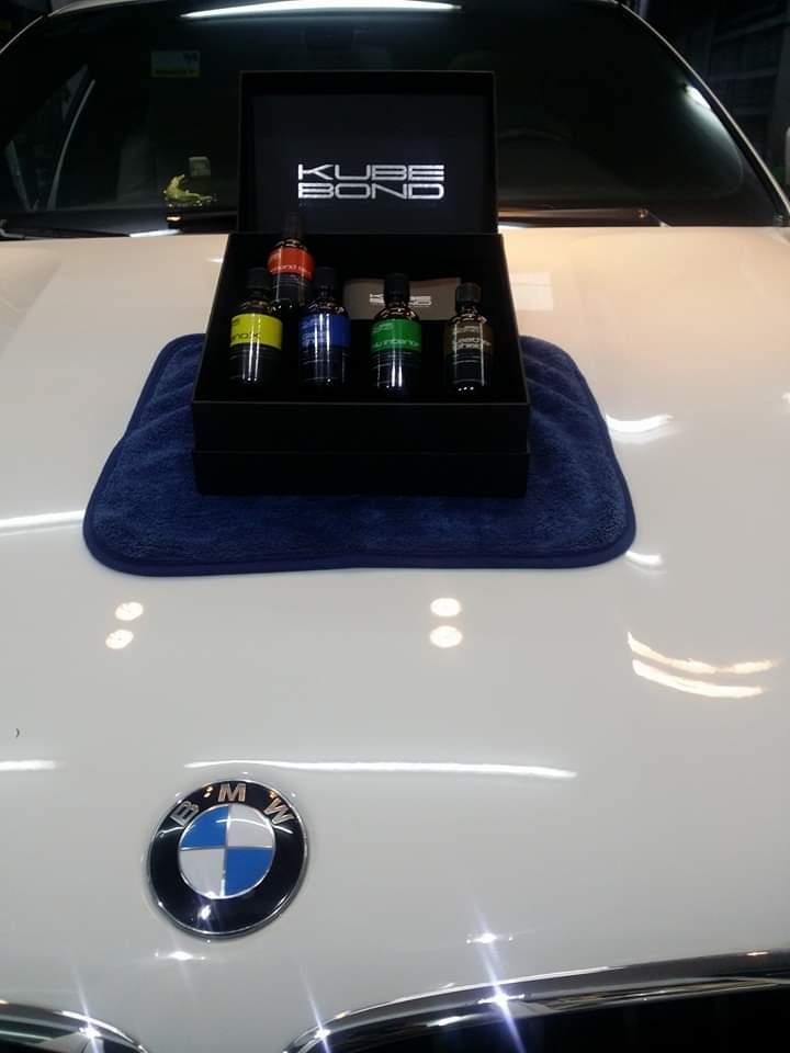 Xe ô tô trở nên sáng bóng khi được phủ Nano Ceramic thương hiệu Kubebond