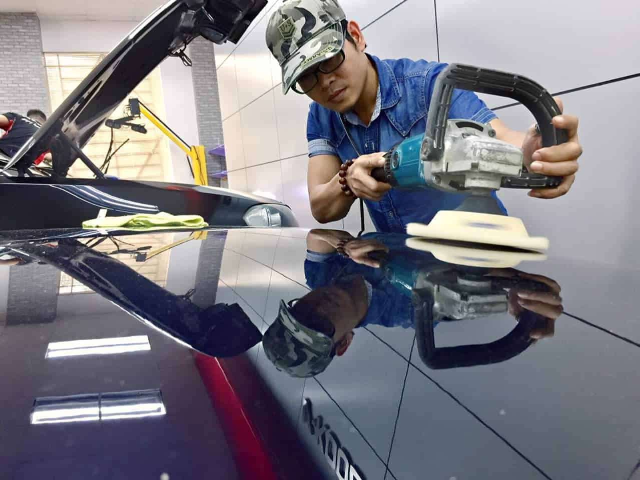 Phủ Nano Ceramic Kubebond tại Tuấn Anh Auto