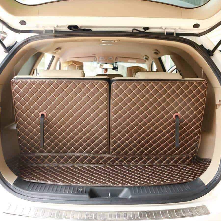 Thảm lót sàn 6D 360 cho xe ô tô tạo không gian sang trọng cho xế yêu