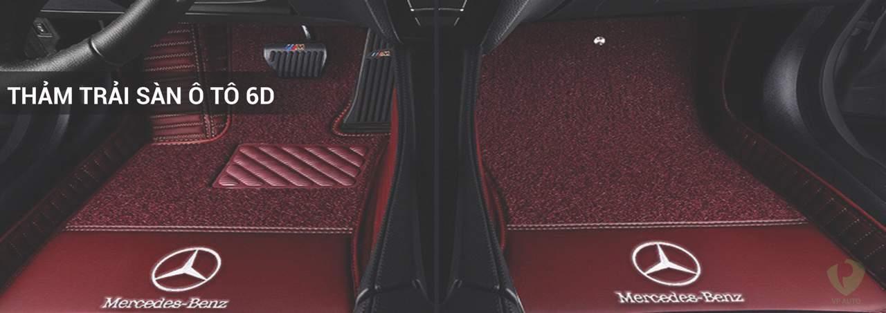 Thảm lót sàn 6D nâng tầm đẳng cấp cho xế yêu