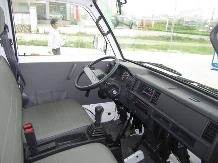 Nhiều người bọc ghế da xe Suzuki Carry truck để xế yêu của mình có diện mạo mới